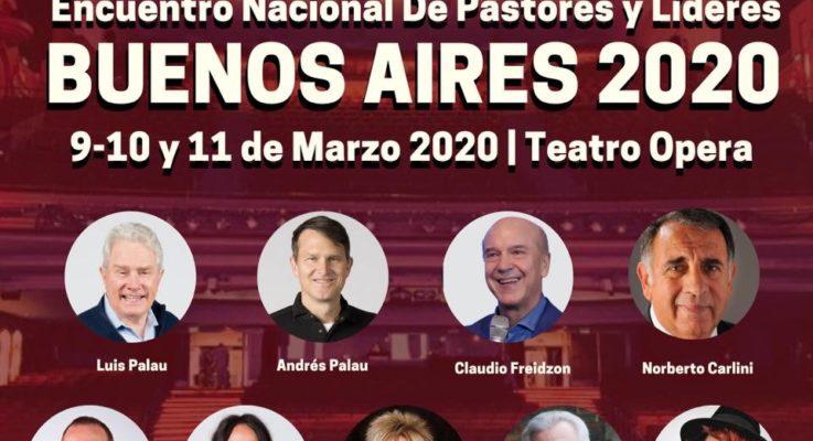 Congreso para pastores iniciará actividades del Festival Palau  — Buenos Aires 2020
