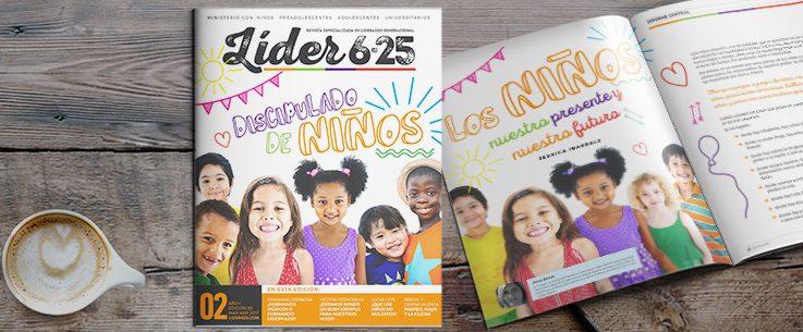 Nueva Revista Líder 6.25 aborda el discipulado de la niñez