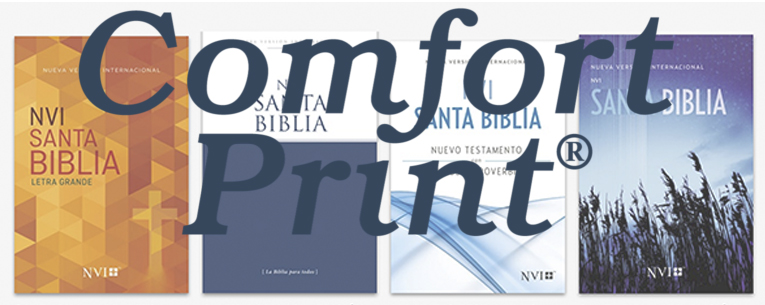 Biblias Comfort Print® La Palabra de Dios más bella que nunca