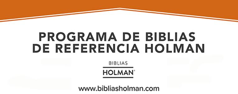 Nuevo sitio web Biblias Holman y del Programa de Biblias de Referencia