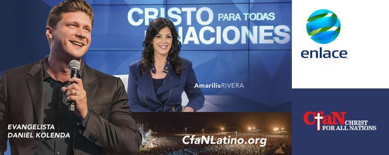 El evangelista Daniel Kolenda llega a Enlace TV