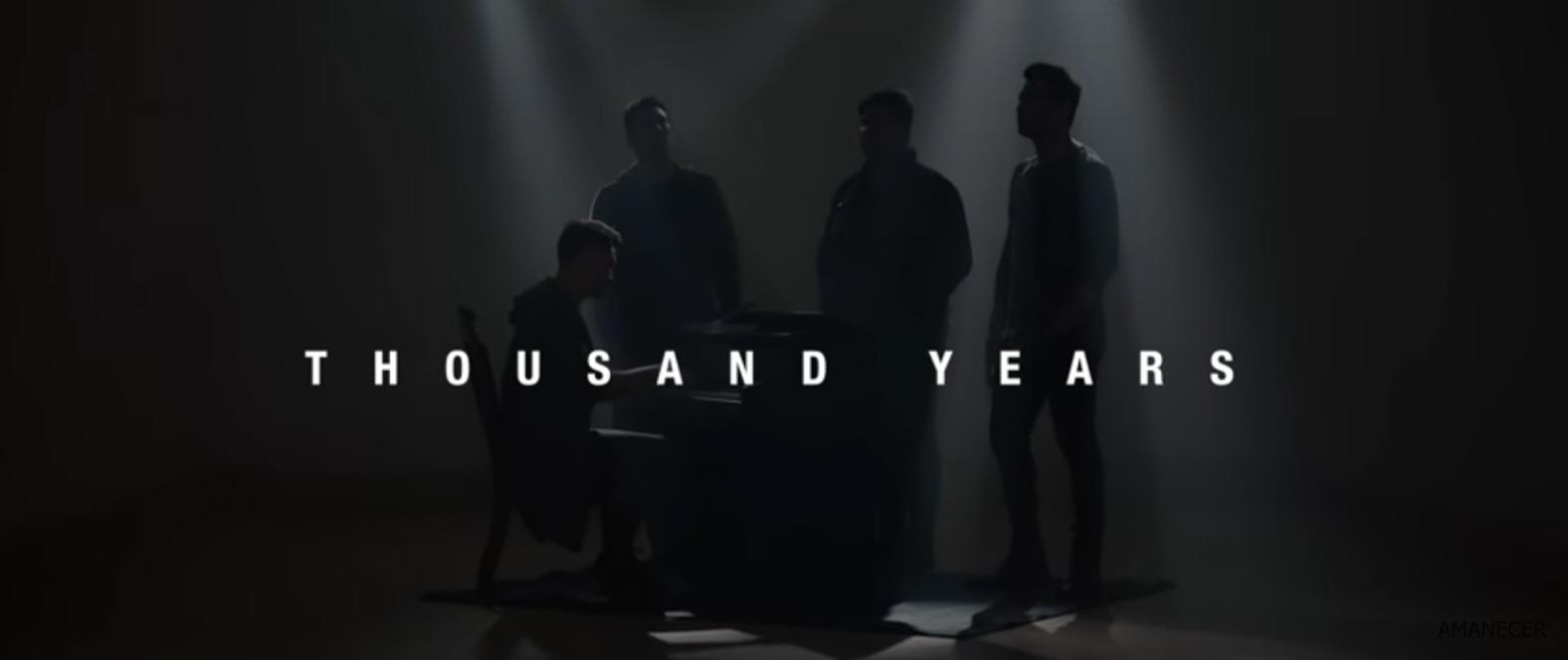 Amanecer presentó «Mil Años» de Christina Perri