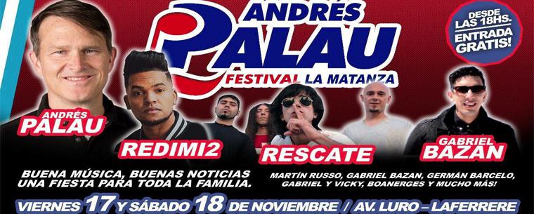 Festival buena música y buenas noticias con Andrés Palau