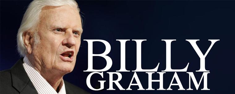 Pasó a la presencia del Señor el Dr. Billy Graham